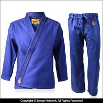 Blue Single Weave Brazilian Jujitsu Gi